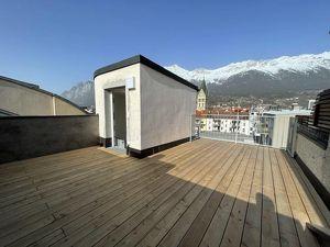 Über den Dächern von Innsbruck - 3 Zimmer Dachgeschoßwohnung mit 2 Terrassen!