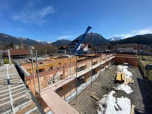 Baubeginn erfolgt - Wohnhaus Grenznähe zu Füssen