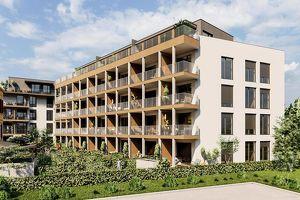 2-Zimmer-Erstbezugswohnung mit 17m² Balkon!