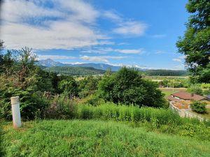 Sonniges Grundstück mit herrlichem Blick in die Kärntner Berge