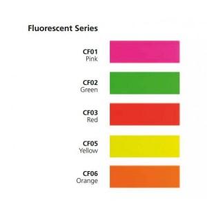 Fluoreszierende Folie / Neonfarbfolien, Tagesleuchtfarben