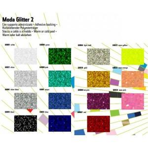 Flexfolie Siser, Moda Glitter 2 - Flexfolie  mit grobem Glitter