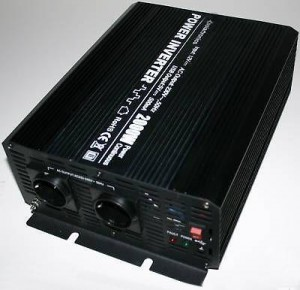 SPANNUNGSWANDLER - WECHSELRICHTER 2000-4000 WATT 12V 230V
