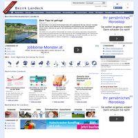 Bezirksinformationen Landeck
