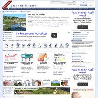 Bezirksinformationen Neunkirchen