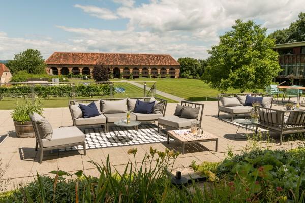Hotel SCHLOSS SEGGAU - SchlossTavernen Terrasse
