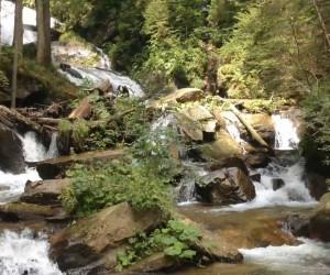 Wasserfall der Weissen Sulm in Wielfresen