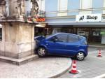 Verkehrsunfall am Leibnitzer Hauptplatz verwirrt die Bevölkerung!
