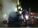 Das Kunstprojekt Crash wurde Opfer eines Brandanschlages