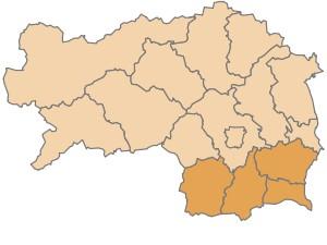 Die Südsteiermark, eine Region auf der Suche nach ihren Grenzen