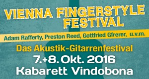 Vienna Fingerstyle Festival 2016: Das Akustik-Gitarrenfestival