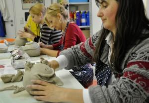 Keramik-Workshop für Erwachsene und Jugendliche