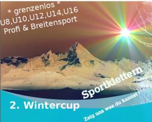 2. Wintercup Sportklettern