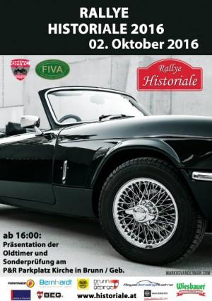 Oldtimer Rallye Historiale