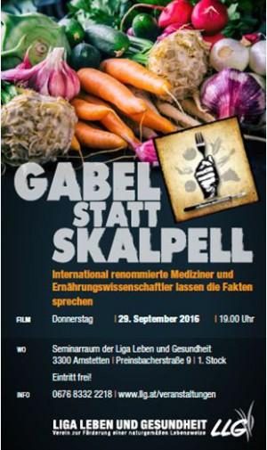 "1. Teil:   Der FILM - ""GABEL STATT SKALPELL"""
