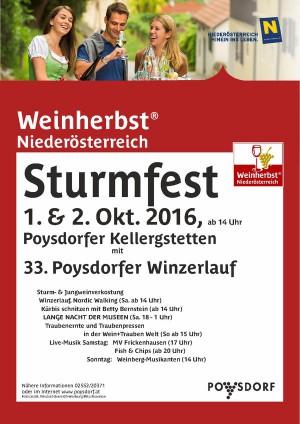 Sturmfest in Poysdorf