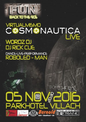 The Cosmonautica Night - FUN Back to the 90�s