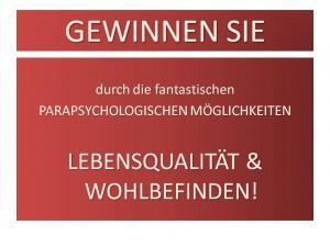 Beratungstag zum Thema: �PSI-energetische (seelische) Altlasten im Wohnbereich!�