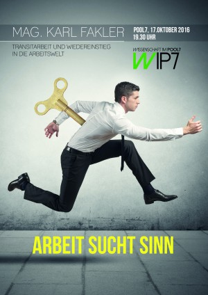 WIP7-Wissenschaft im POOL7: Transitarbeit und Wiedereinstieg in die Arbeitswelt