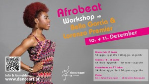 Afrobeat - Workshop mit Bella Garcia & Lorenzo Premier