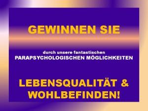Beratungstag zum Thema: Krankheit, Ängste, Nöte aller Art und deren Ursächlichkeit!