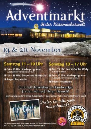 Adventmarkt in der Käsemacherwelt Heidenreichstein