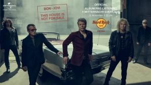BON JOVI: Album Pre-Listening & Mitternachtsverkauf