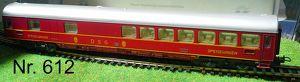 Nr. 612  LIMA Modellbahn HO Schnellzug Speisewagen DSG; rot,