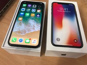 Brandneues Apple iPhone X 256GB