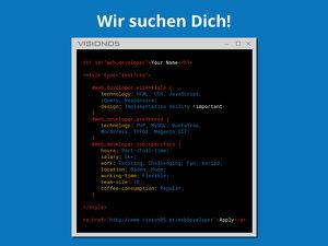 Webdeveloper gesucht!