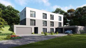 Auf da Sonnseit´n - neue Doppelhaushälfte