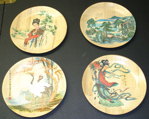 Bambusuntersetzer