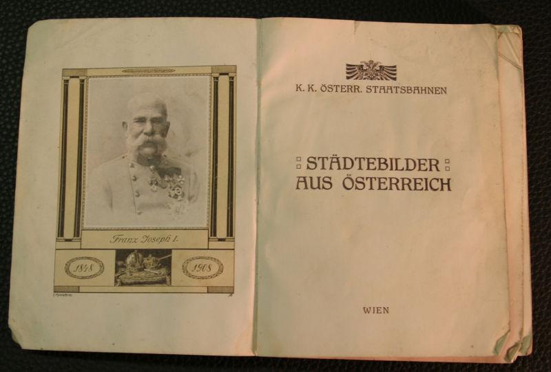K.K. Österr. Staatsbahnen - Städtebilder aus Österreich