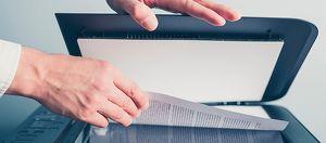 Digitalisierung von Dokumenten