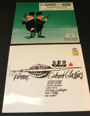 LP's und Single Wiener Cabaret