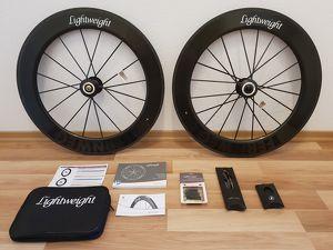 Lightweight Fernweg 80/80 Tubular Laufradsatz Shimano