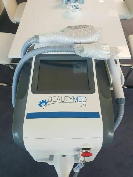 IPL SHR Laser Gerät mit 2 Handstücken zur dauerhaften Haarentfernung