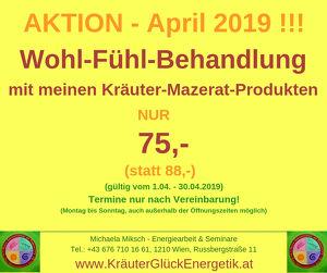 April - Aktion !