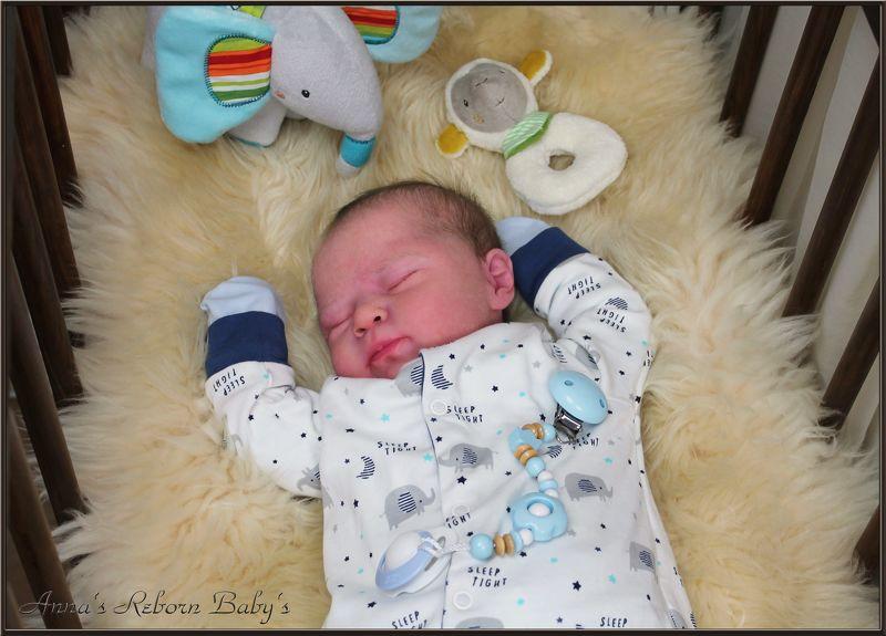Reborn Baby Luciano by Cassie Brace, Annas Reborn Babys