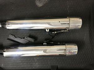 Kess Tech Auspuff Endschalldämpfer Anlage Harley Touring
