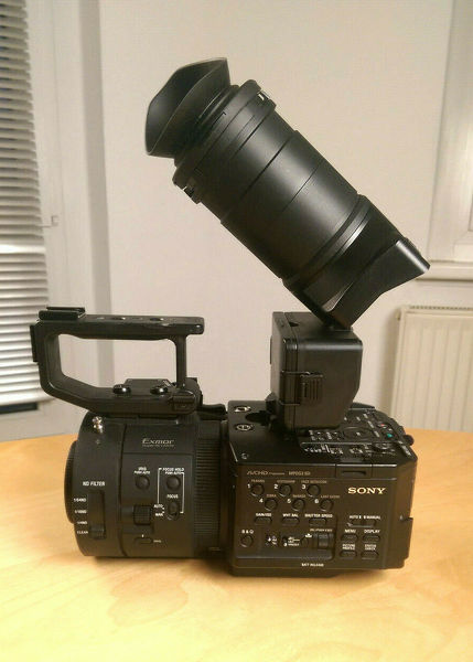 Sony NEX-FS700E Camcorder mit 240fps 4K RAW Option Full HD