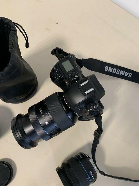 Samsung NX1 Smart 28.2 MP 4K Digital Camera
