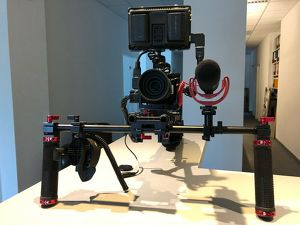 BMCC Black Magic Micro Cinema Camera mit viel Zubehör
