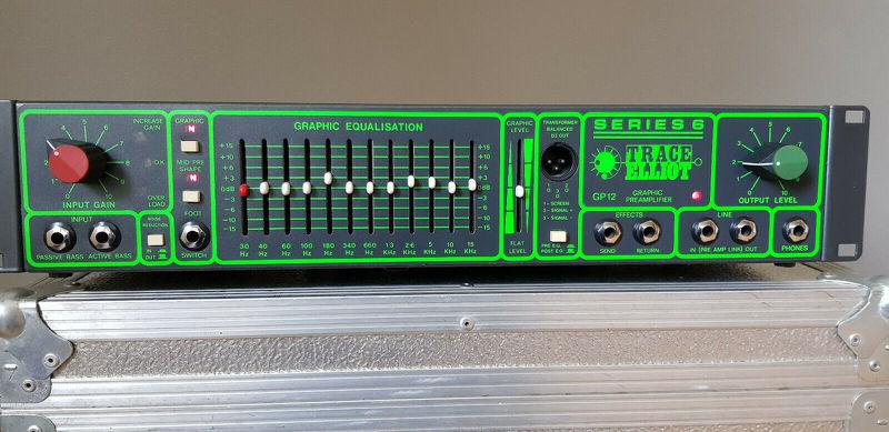 Trace Elliot GP 12 Bass Amp AH 200