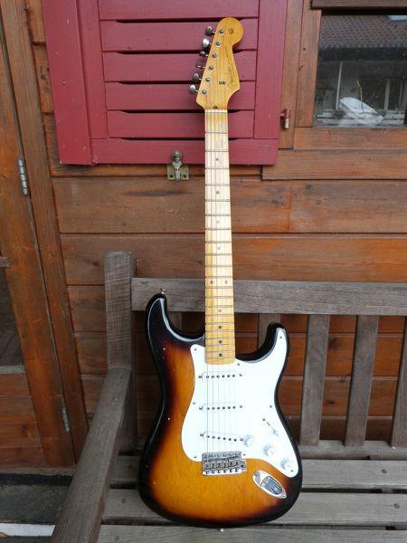 57 Fender Stratocaster Jrn Relic, Custom Shop, Bj. 2017