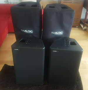 2 Tw Audio M-15 Firstclass Fullrangeboxen