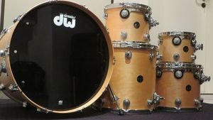 DW Shellpack 10/12/14/16/22 Satin Oil Natural