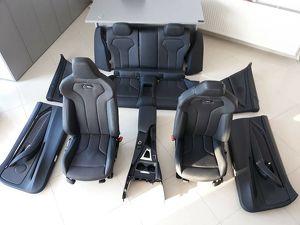 BMW F82 M4 Ledersitze Sport Interieur