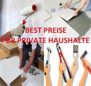 ( Best Preise für Private Haushalte ) fliesenleger, malerei, möbelmontage uvm...
