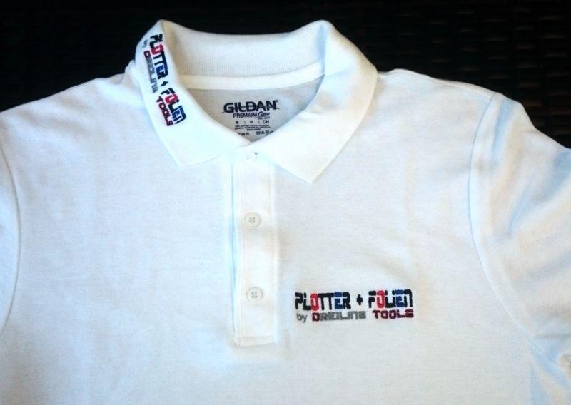 Wir besticken Polos, Shirts, Caps, Aufnäher und vieles mehr!